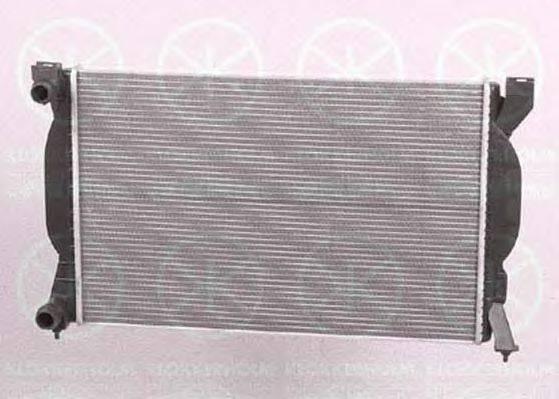 KLOKKERHOLM 0019302201 Радиатор, охлаждение двигателя