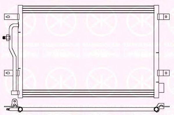 KLOKKERHOLM 0019305194 Конденсатор, кондиционер
