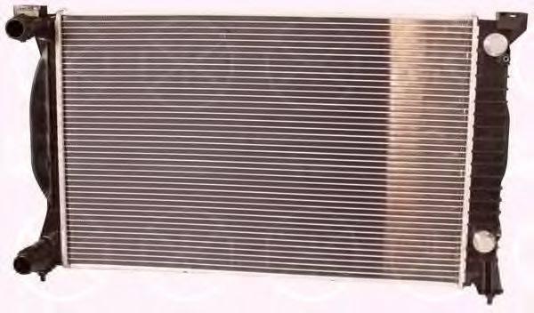 KLOKKERHOLM 0019302202 Радиатор, охлаждение двигателя