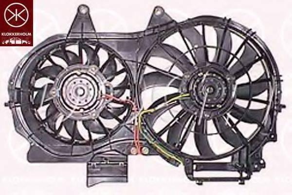 KLOKKERHOLM 00192603 Вентилятор, охлаждение двигателя