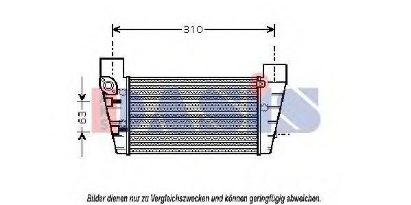 AKS DASIS 487021N Интеркулер