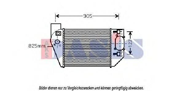 AKS DASIS 487022N Интеркулер