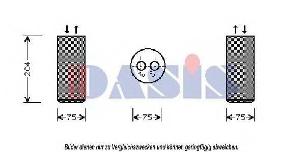 AKS DASIS 800250N Осушитель, кондиционер
