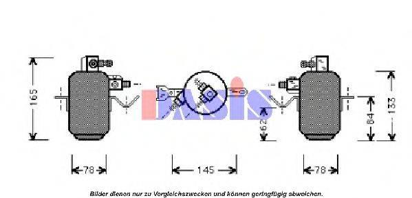 AKS DASIS 800680N Осушитель, кондиционер