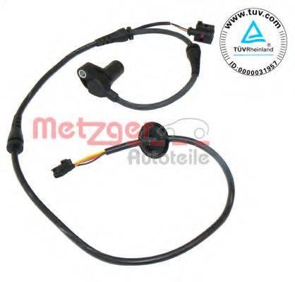 METZGER 0900073 Датчик, частота вращения колеса