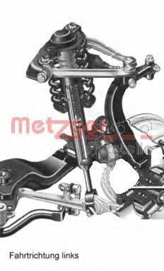 METZGER AUDIA3V Подвеска колеса