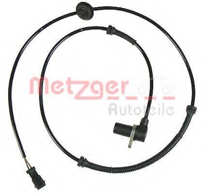 METZGER 0900417 Датчик, частота вращения колеса