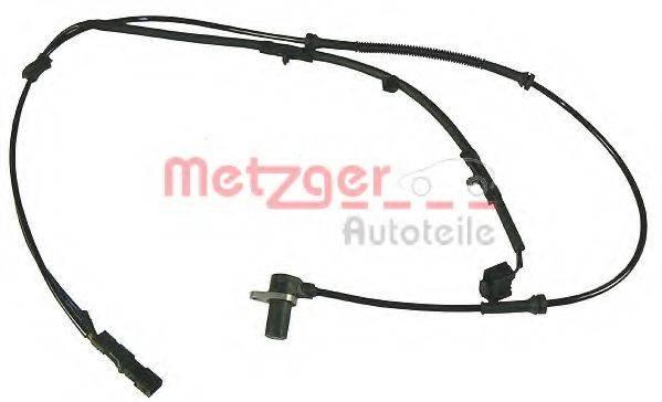 METZGER 0900606 Датчик, частота вращения колеса