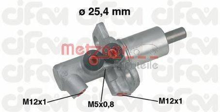 METZGER 202458 Главный тормозной цилиндр