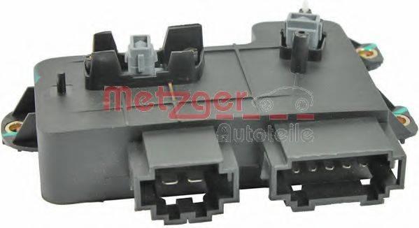 METZGER 0916271 Регулировочный элемент, регулировка сидения