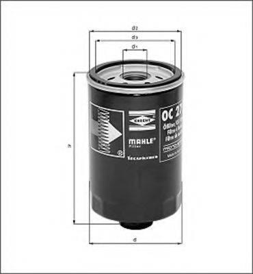 MAGNETI MARELLI 154068892650 Масляный фильтр