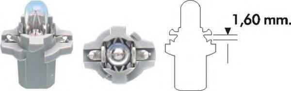 Лампа накаливания, освещение щитка приборов; Лампа накаливания MAGNETI MARELLI 002053400000